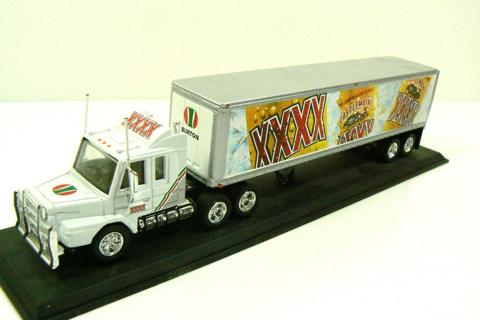 Matchbox Castlemaine Xxxx Scania Camión Trucktor Remolque Modelo 1 100 Réplica
