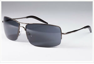Timberland-Men-039-s-Shiny-Dark-Gunmetal-Sunglasses-with-100-UV-Protection