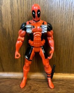 "Deadpool Vintage Marvel Comics Universe 10"" Action Figure 1997 Toybiz 90s"
