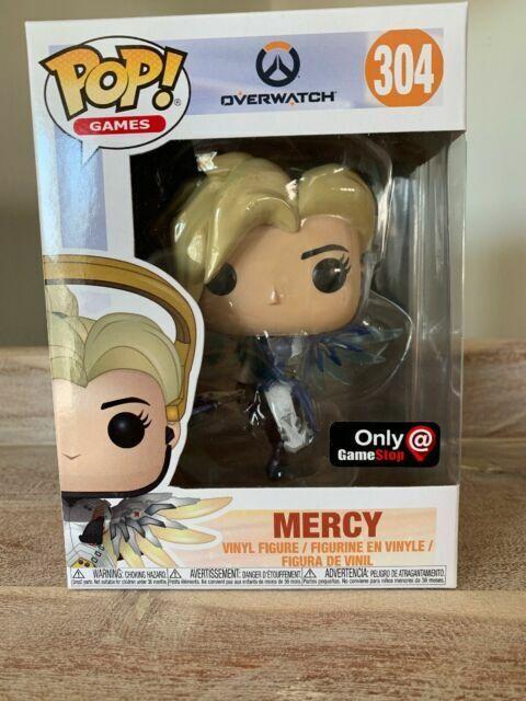 Overwatch Mercy Funko Pop Vinyl Figure 304 Brand New Gaming