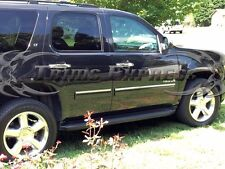 "2010-2014 Chevy Tahoe/GMC Yukon 4Pc Chrome Body Side Molding Overlay 1"""