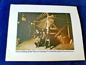 The-building-of-the-034-HARVEY-GAMAGE-034-Schooner-Pictorial-Booklet-22-pgs-12-x-9-25-034