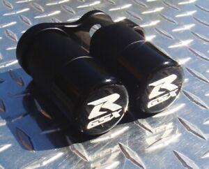 2006 - 2010 Suzuki GSX-R 600 750 No-Cut Frame Sliders GSXR K6 K7 K8 K9 L0 Black