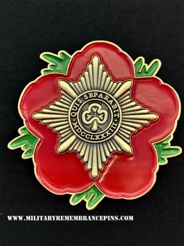 Irish Guards Remembrance Flower Lapel Pin P49