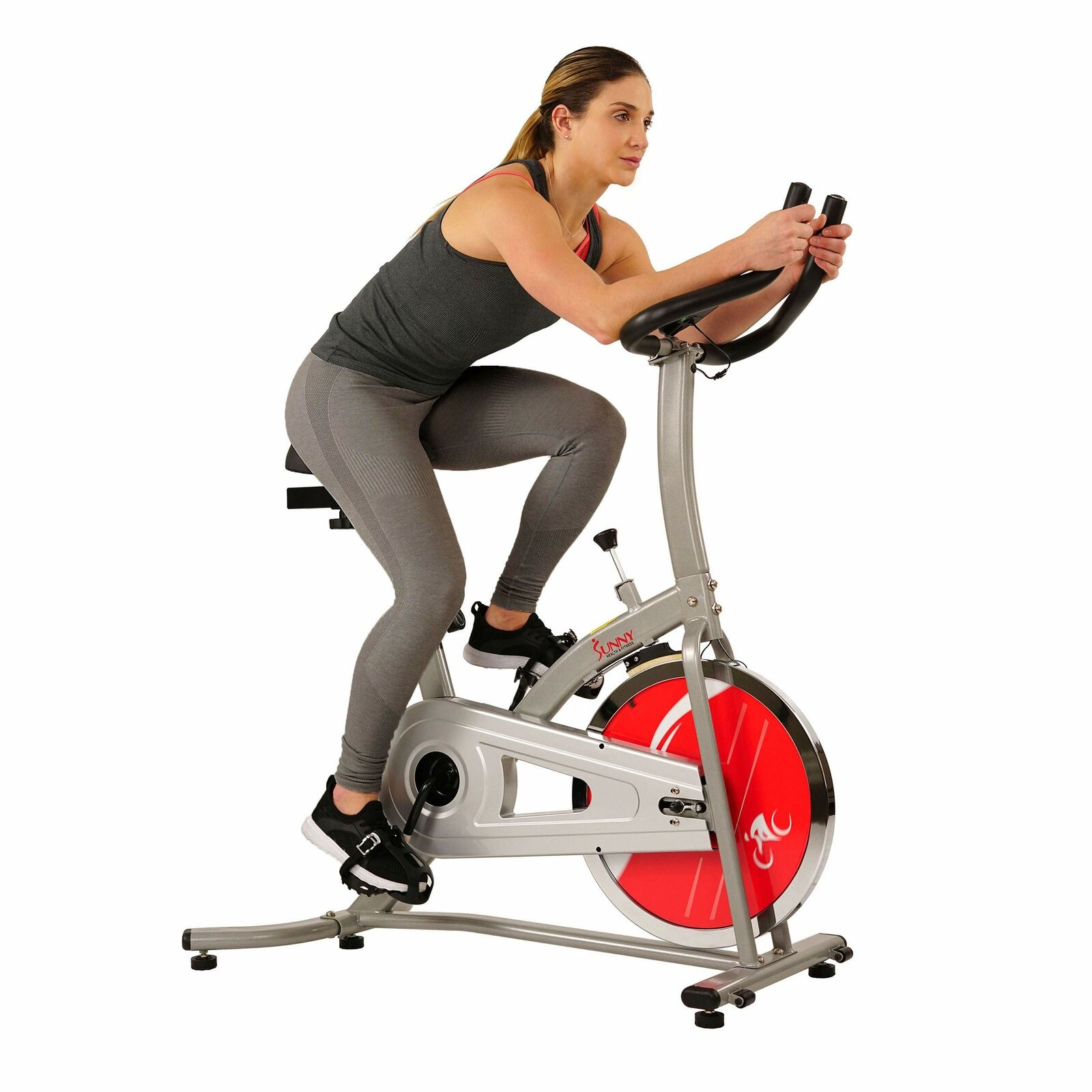 Cycling Exercise Stationary Bike Indoor Bicycle Gym Workout w/Monitor Flywheel bicycle bike cycling exercise flywheel gym indoor stationary workout