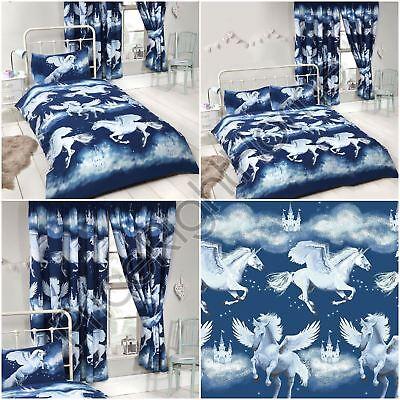 Stardust Unicorn Double Duvet Cover