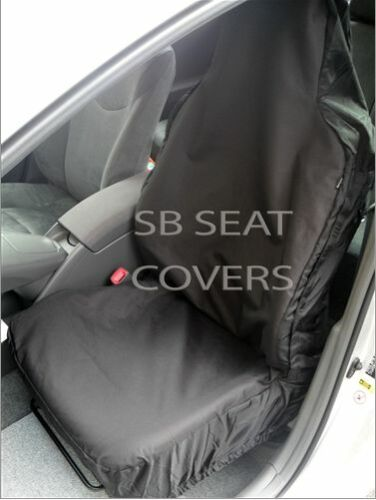 TO FIT A VOLKSWAGEN PASSAT CAR,SEAT COVERS,DELUXE WATERPROOF BLACK,FULL SET i