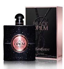 Opium Black By Yves Saint Laurent Women 3.0 OZ 90 ML Eau De Parfum Spray Sealed