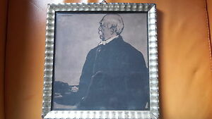 NICHOLSON framed Lithograph PRINCE BISMARCK - <span itemprop='availableAtOrFrom'>Leamington Spa, United Kingdom</span> - NICHOLSON framed Lithograph PRINCE BISMARCK - Leamington Spa, United Kingdom