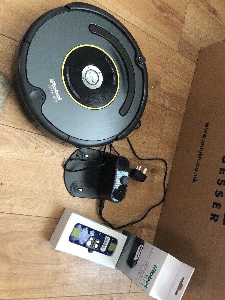 IRobot Roomba 651 Vacuum Cleaning Robot   Recharges & handles pet hair & fuzz