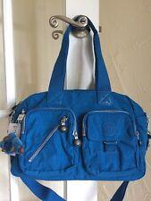 Kipling Defea Handbag Blue Crab Convertible Crossbody