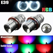 High Power Error Free RGB Multi-Color E39/E60 LED Angel Eyes Halo Light Bulbs