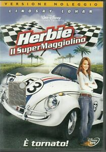 HERBIE IL SUPERMAGGIOLINO (2005) di Angela Robinson DVD EX NOLEGGIO WALT DISNEY