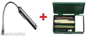 Pistolet Kit de nettoyage 8+ pièces! Pistolet Brosses 9 mm .357 .380 + DEL sans Alésage lumière!-afficher le titre d`origine j8hSdlIh-07141238-277830916