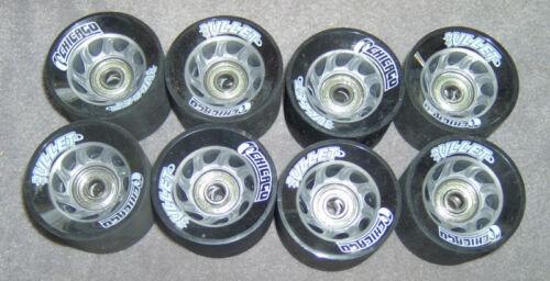 Chicago Roller Skate Wheel BULLET 58mm grey hub