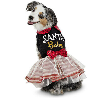 Petco Holiday Tails Santa Baby Dog Dress Christmas Costume Size S Small NEW 800443381830 - eBay