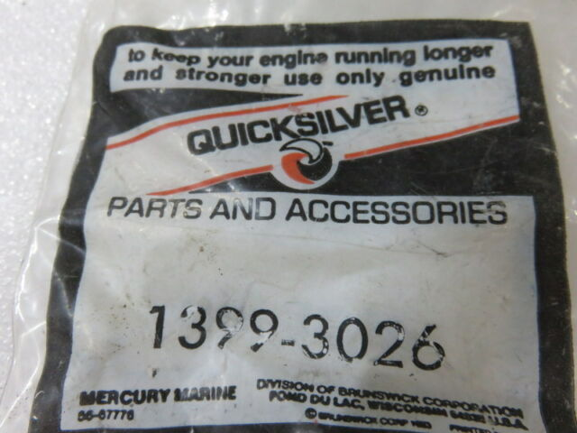W1 Quicksilver 1399-3026 Jet Mercury Factory OEM Part
