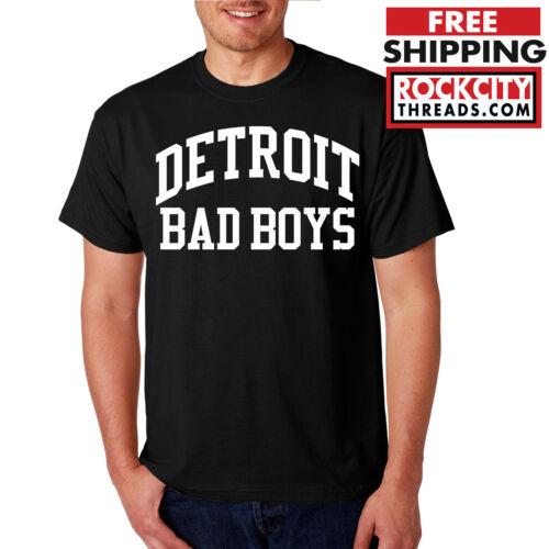 DETROIT BAD BOYS ORIGINAL T-SHIRT Pistons Isiah thomas Chuck Tshirt Shirt  Bball
