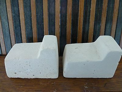 Sandstone Pot Feet  White  for Round  Square or Rect  Pots  NEW LINE   4 FOR $3-