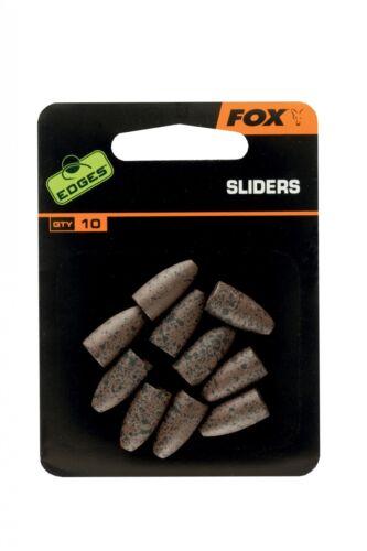 Fox Edges Sliders 10 Stück Backleads Back Leads Bleie Absenkbleie