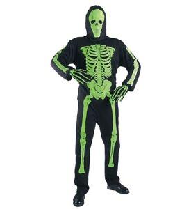 MKS-Halloween-Vestimenta-de-Halloween-Carnaval-Fiestas-Neon-Esqueleto-Verde
