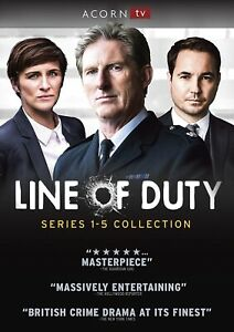 Line of Duty: Complete Seasons 1-5 (DVD, 11-Disc Set) Free and Fast Shipping!