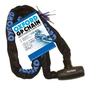 Oxford-Security-GP-Chain-Scooter-Bike-Motorbike-Motorcycle-Chain-Lock-1-5M-x-8mm