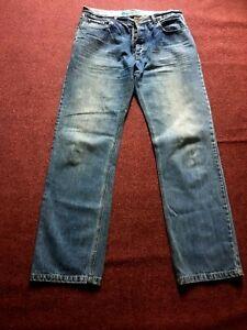 BODEN-MENS-BLUE-JEANS-36-034-WAIST-33-034-LEG