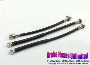 BRAKE-HOSE-SET-Chevrolet-Chevelle-1973-Disc