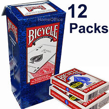 12 Packs Bicycle Playing Cards Air Cushioned Poker, Magicians Magic Block