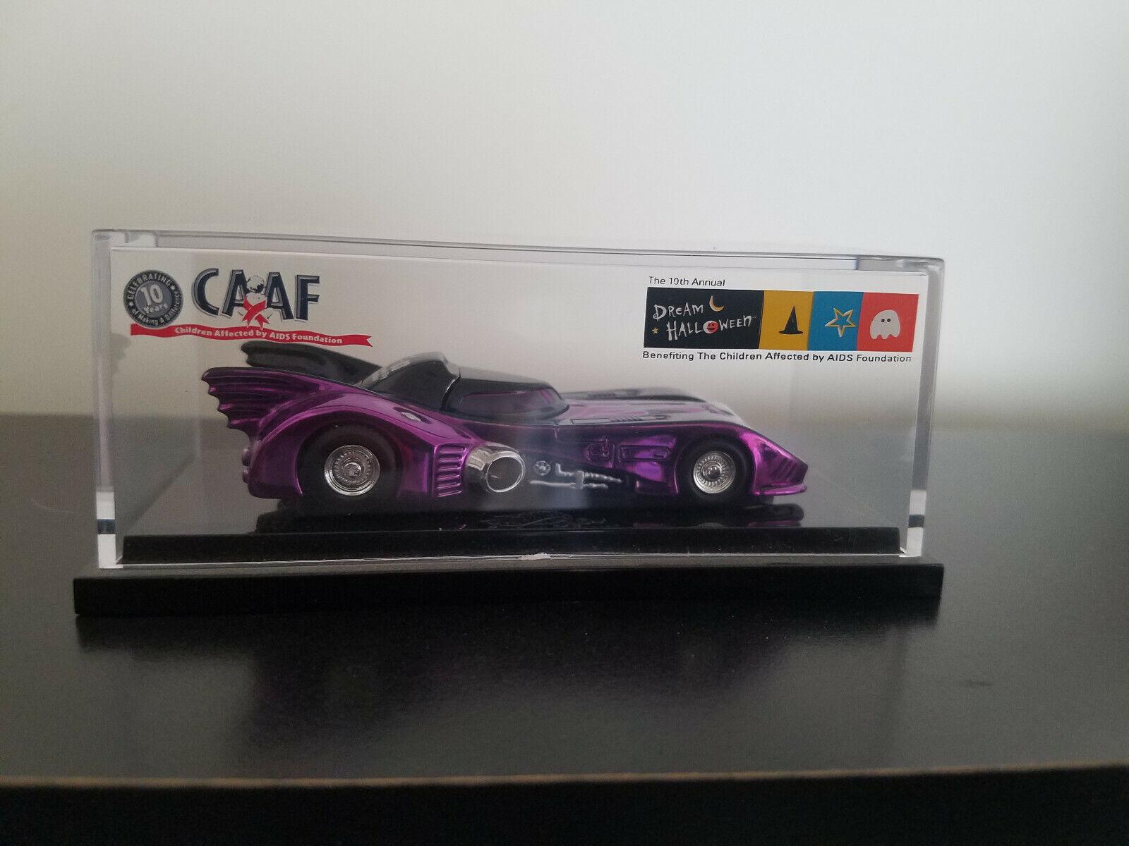 Hot Wheels 03 CAAF Dream Halloween Affinity Batmobile - Rare car, never opened.