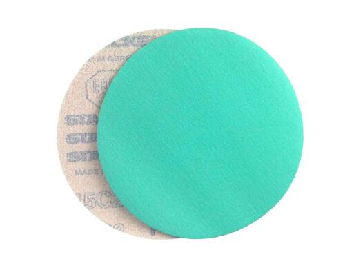 25 Pack, 150 Grit 5 Inch Green Hook and Loop Grip Sanding Discs