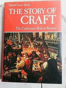 Studio Craft BOOK THE STORY OF CRAFT Edward Lucie-Smith 1981 Pottery Jewelry