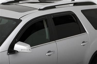 GMC ACADIA 2007-2016 WINDOW VENT VISORS Shades IN-CHANNEL 194632 For