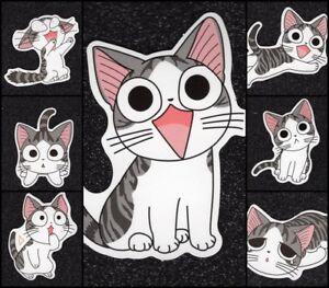 7-Cat-Vinyl-Stickers