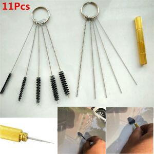 11Pcs-Car-Windscreen-Washer-Jet-Nozzle-Tool-Car-Jet-Needle-Brush-Tool