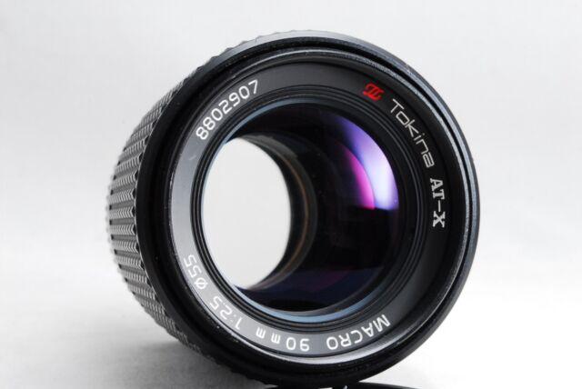 Tokina AT-X 90mm f/2.5 Macro MF Lens for Nikon