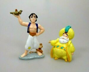 2-Figuren-Aladdin-amp-Sultan-Disney-Bully