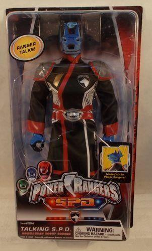 Power Rangers SPD SPD SPD 12  Talking Commander Doggy Cruger By Bandai (MOC) 836b1d