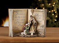 Holy Family Bible Nativity Scene Resin Stoneware Christmas Decoration Figurine,