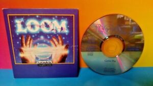 Loom - PC CD Computer Game + Sleeve CD-ROM Lucas Arts Lucas Film Games Very Rare