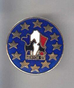 RARE-PINS-PIN-039-S-SPORT-CHEVAL-HORSE-HIPPISME-TROT-COURSE-EUROPE-MENTON-06-AR