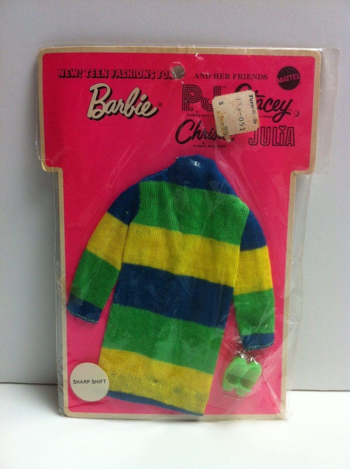 Vintage Muñeca Barbie Sharp cambio Pijama, Stacey, Christie & Julia nunca quitado de la caja en caja como nuevo Menta en paquete de menta en tarjeta