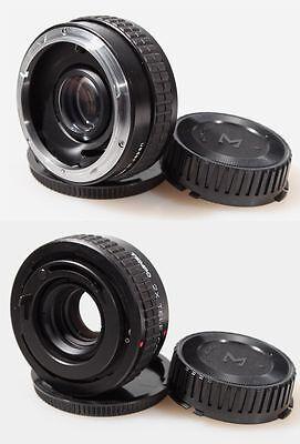2x Tele-converter Mc Canon Fd W/ Caps