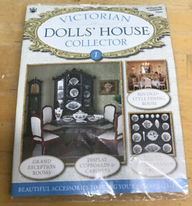 VICTORIAN-DOLLS-HOUSE-COLLECTOR-MAGAZINE-ISSUE-1-17-Piece-Dinner-Service-Set-New