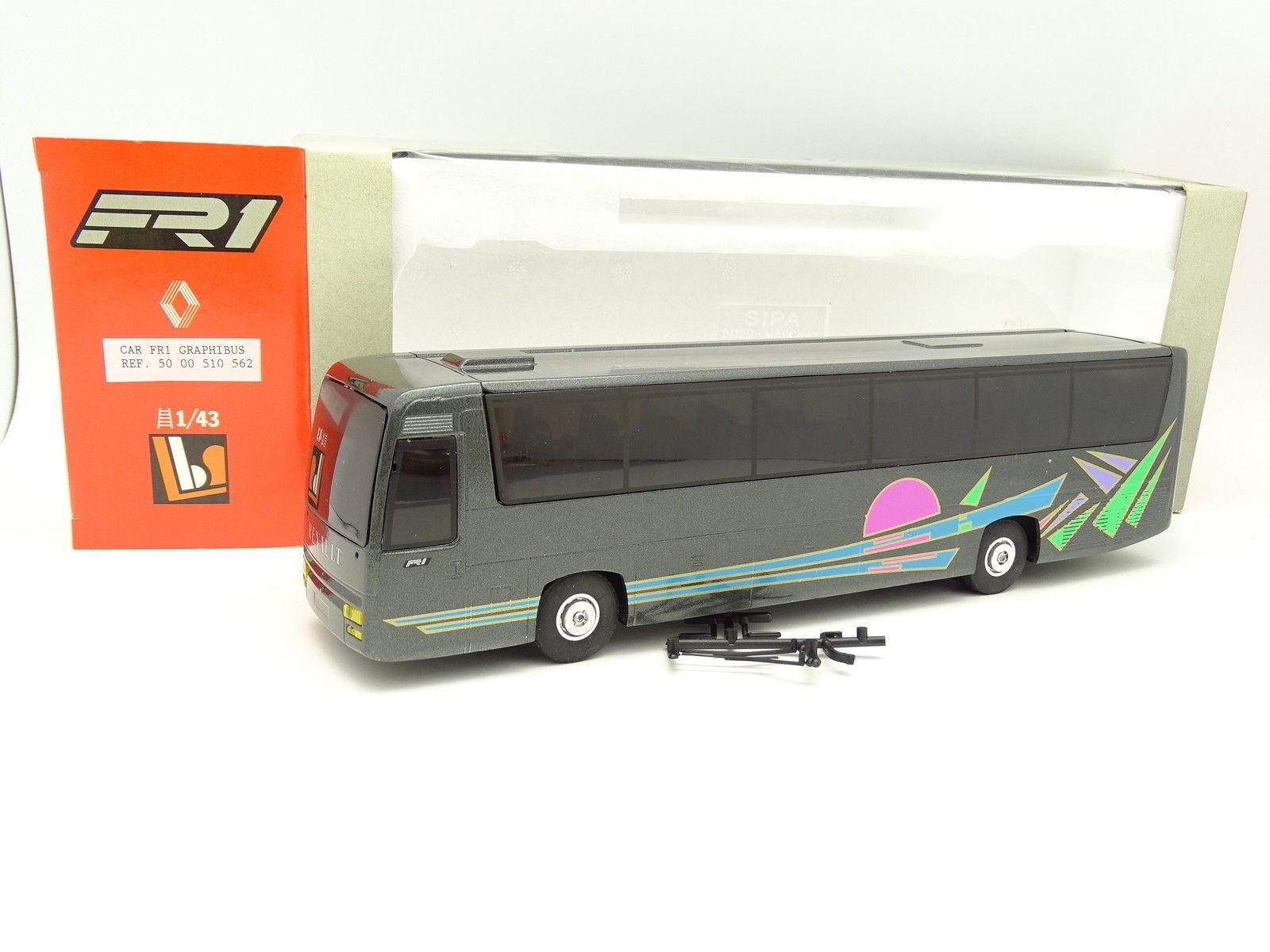Eligor LBS 1 43 - Bus Car Autocar Renault FR1 Graphibus
