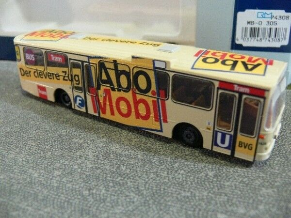 1 87 Rietze MB O 305 BVG Abo Mobil 74308  | Luxus
