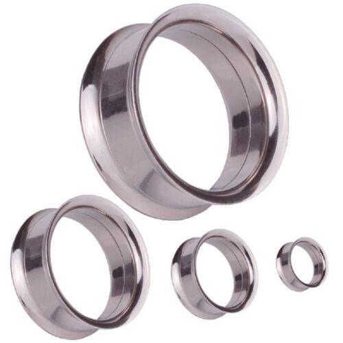 Orecchio Flesh Tunnel Piercing Estensore Dilatatore4-20 mm