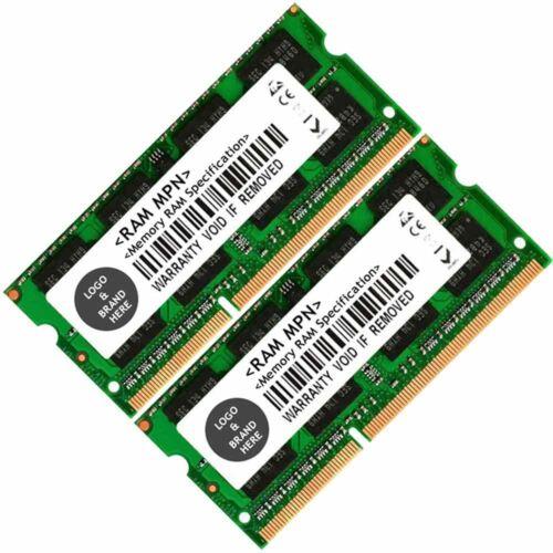 Memory Ram 4 Toshiba Satellite Pro Laptop C650 PSC09A-01W021 2x Lot DDR3 SDRAM