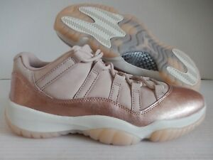 the best attitude 80d07 79238 Image is loading NIKE-AIR-JORDAN-RETRO-11-LOW-034-ROSE-